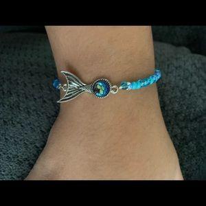 Handmade Mermaid seed bead Magnetic Bracelet 🌹